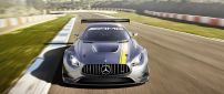 Race car Mercedes Benz AMG GT3