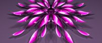 Pink flower - Abstract and 3D wallpaper