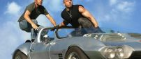 Paul Walker and Vin Diesel in Fast and Furious 6