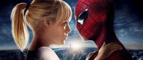 Emma Stone and Spiderman - Marvel action movie 2015