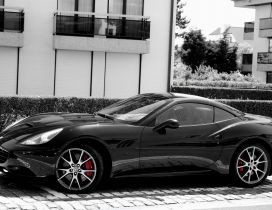 Black Ferrari California