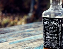 Bottle of Jack Daniel's Whiskey