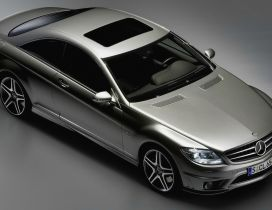 Grey Mercedes-Benz CL 65 AMG