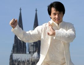 Jackie Chan a Hong Kong actor, martial artist, film director