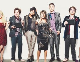 Actors from The Big Bang Theory
