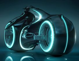 Tron: Legacy - Movie Wallpaper