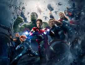 Avengers: Age of Ultron - Fantastic movie