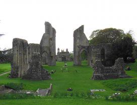 Glastonbury Abbey Monastery from United Kingdom