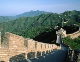 The great wall of China - World Wonders Wallpaper