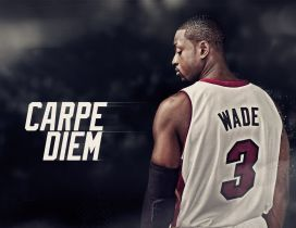 Dwyane Wade basketball player  - Living moment