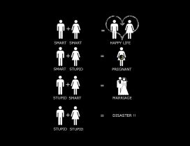 Characterization couples - Funny image