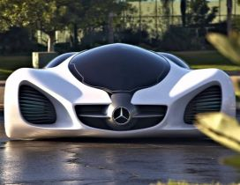 Interesting Mercedes Benz 300SL Prototype