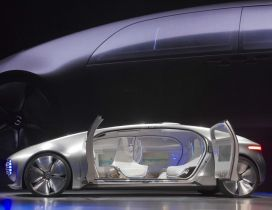 Interesting Mercedes Benz Self Driving Concept