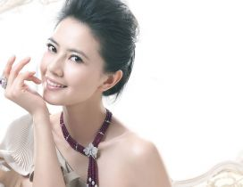 Gao Yuanyuan a Chinese actress and model