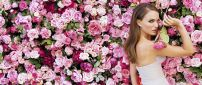 Natalie Portman a flower among flowers