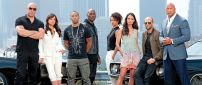 Actors Fast and Furious 7 - Movie wallpaper
