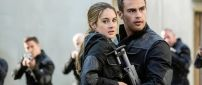 Divergent Movie - Shailene Woodley and Jai Courtney