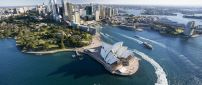 Beautiful landscape from Sydney City of Australia