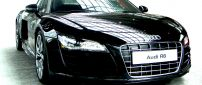 Black Audi R8 - Splendid car wallpaper