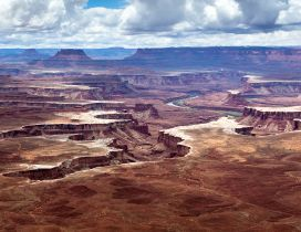 Awesome overview in the Canyonlands National Park