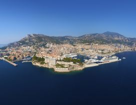 Monte Carlo from height wallpaper -