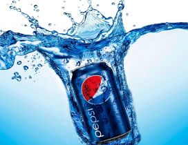 Pepsi - fresh drink in a hot summer day