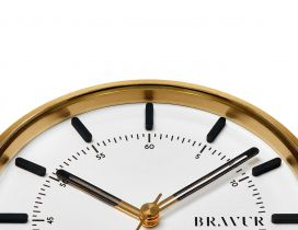 BW002G-W — Golden Bravur Watch