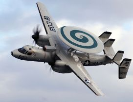 Northrop Grumman E-2 Hawkeye Airplane