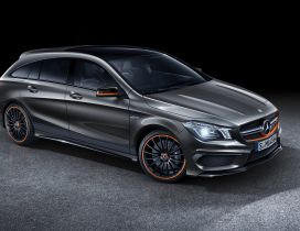 Beautiful Mercedes-Benz CLA45 AMG Shooting Brake