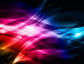 Bright Colors - Abstract HD colorful lines
