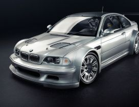 BMW M3 Coupe tunning - Sport gray car