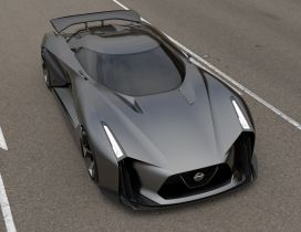 Prototype Nissan GT-R - Sport car wallpaper