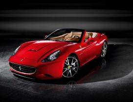 Ferrari California 30 - Red convertible car