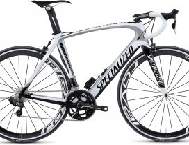 White and black bicycle sports - Specialized bike