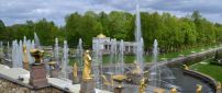Peterhof fountains - Palace and park