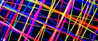 Colorful lines - Abstract 3D wallpaper