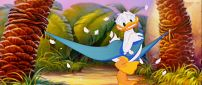Donald Duck was left without clothes