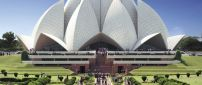 Lotus Temple - A beautiful architecture in Delhi