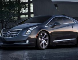 Black Cadillac ELR Coupe - Gorgeous car