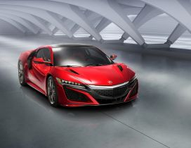 Red Acura NSX Static - Sport car wallpaper