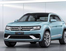 Blue Volkswagen Cross Coupe GTE Wallpaper