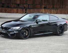 Black BMW M4 G-Power - Gorgeous car