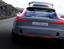 Gray Stunning Volvo Concept XC Coupe