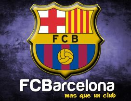 Logo of FC Barcelona football club