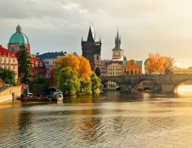 A gorgeous Prague corner - Sunrise over Prague