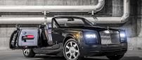Convertible Rolls Royce Phantom Drophead