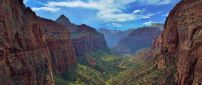 Zion National Park - A beautiful landscape