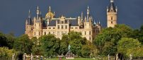 Schwerin Castle, an amazing architecture