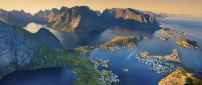 Lofoten Island from Norway - Landscape wallpaper