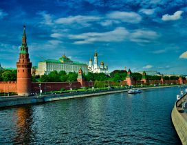 A beautiful landscape from Moscow